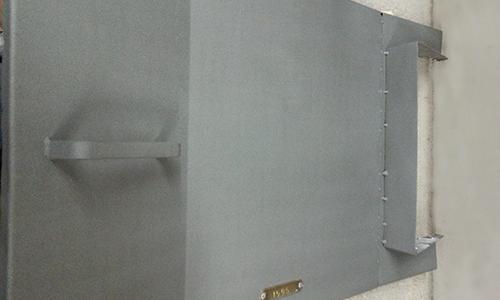 coated metal lid